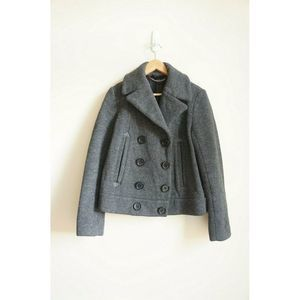 Marc by Marc Jacobs Bomber Peacoat Jacket M